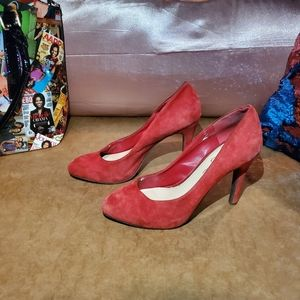 FREE W/ ANY OTHER BUY! Jessica Simpson red pumps